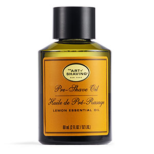 huile pré-rasage citron The Art Of Shaving
